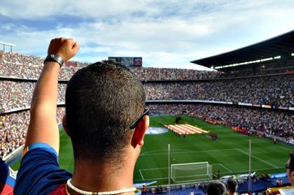 Националисты Каталонии обыграли испанцев на домашнем поле 9:1