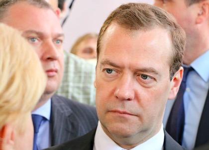 Медведев рассказал об макроэкономике и рубле