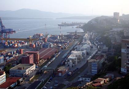 Владивостокский порт поставил рекорд грузооборота