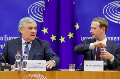 Изворотливость Цукерберга возмутила Европарламент