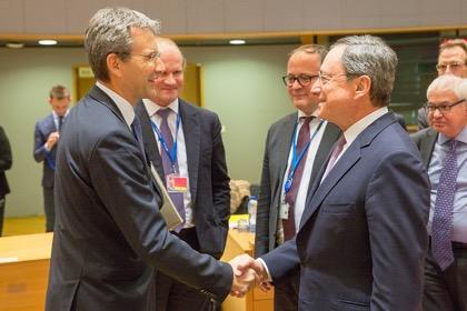 Драги отметил эффективность стимулирующих мер ЕЦБ