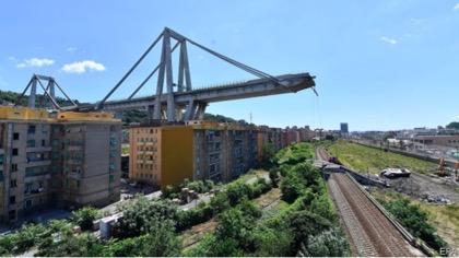 Economist: Катастрофа в Генуе указывает на слабость инфраструктуры