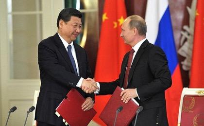 Путин провёл переговоры с Цзиньпином