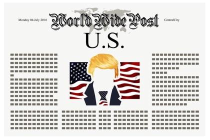 """Трамп уверен, что Китай уважает его за """"очень-очень большой мозг"""""""