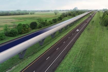 Маск заявил о запуске вакуумного тоннеляHyperloop 10 декабря