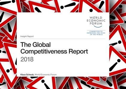 Россия поднялась в рейтинге конкурентоспособности ВЭФ на 2 позиции