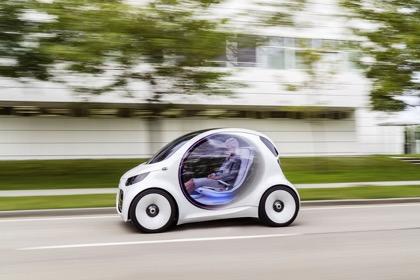 Через 25 лет количество беспилотных автомобилей превысит 11 млн