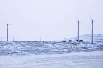 «РусГидро» запустило ветроэлектростанцию в арктическом Тикси ранее срока