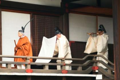 Император Акихито начал ритуалы отречения от престола
