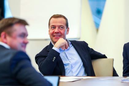 Интервью Дмитрия Медведева порталу «Будущее России»