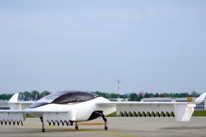 Пятиместное летающее такси Lilium совершило первый полёт