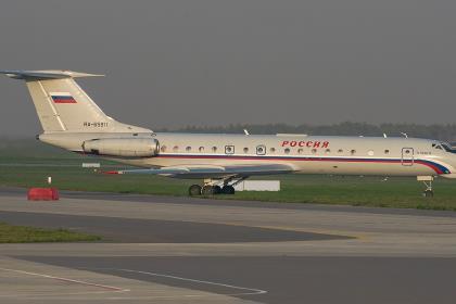 Ту-134 совершил заключительный пассажирский рейс в России