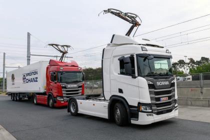 Германия открыла первый «электрический» автобан