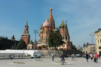 Москва метит в десятку самых туристических городов Европы