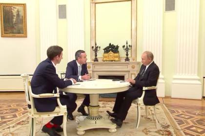 Интервью Президента России перед саммитом G-20 газете The Financial Times