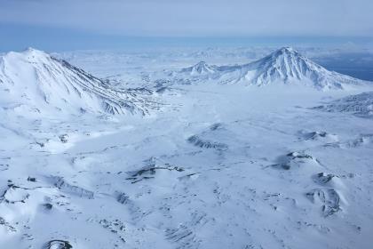 На Камчатке проснулся считавшийся потухшим вулкан Большая Удина