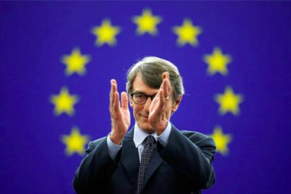 Главой Европарламента избран Давид-Мария Сассоли