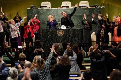 ООН отметила большое представительство женщин в местных органах власти Белоруссии