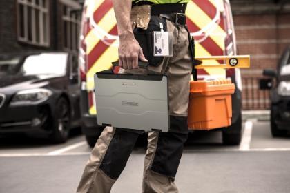 Panasonic анонсировал полузащищенный ноутбук Toughbook 55