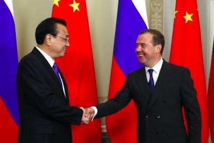 Медведев: российско-китайские отношения находятся на беспрецедентно высоком уровне