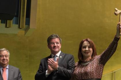 Молоток председателя Генассамблеи ООН сегодня в очередной раз сменит владельца