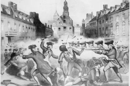 Через 250 лет Бостонская бойня остаётся ярким примером политизации истории