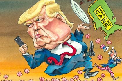 Economist: Covid-19 обнажает уязвимость и неустойчивость Америки